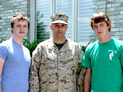 Pat, Ben & Coleman. Iraq. 2008