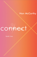 Connect: book two by Nan McCarthy (Rainwater Press 2014). Cover design by David High.
